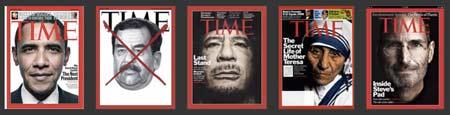 Revistas impresas de Time