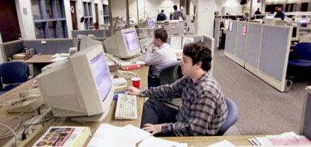 Trabajar en un periodico impreso o Revista Digital