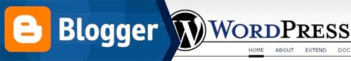 blogger y wordpress, dos alternativas