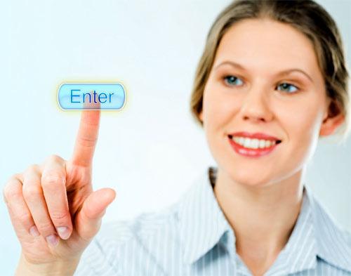 Mujer Emprendedora de proyectos online