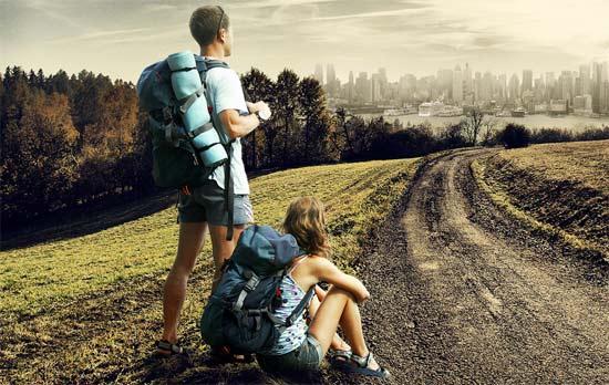 Viajeros Emprendedores que llegan a la ciudad con grandes ideas