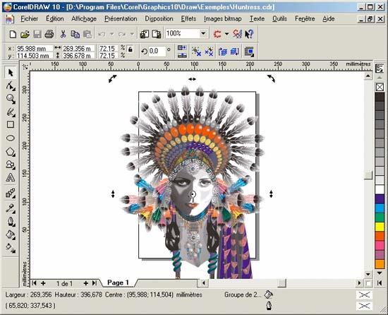 Corel Draw, programa de diseño gráfico para trabajar con vectores parecido a illustrator
