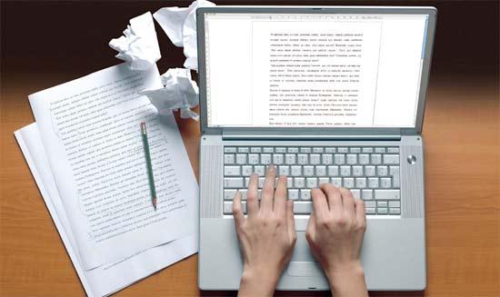 Escribiendo Posts en el blog para ganar dinero en Internet
