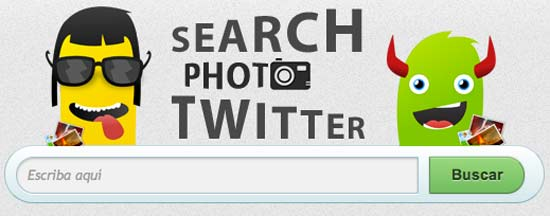 Search Photo Twitter, Web para buscar imágenes y fotos