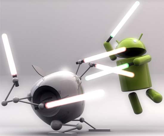 iOS de Apple vs Google Android, los sistemas operativos móviles más usados