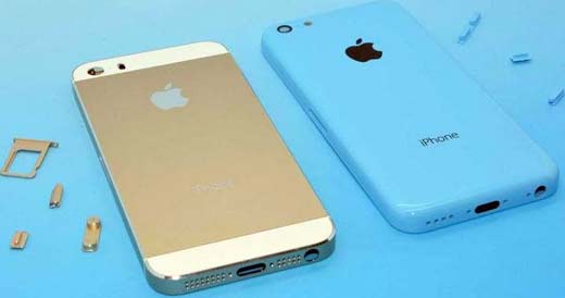 iPhone 5S y iPhone 5C de Apple, se presentan para competir