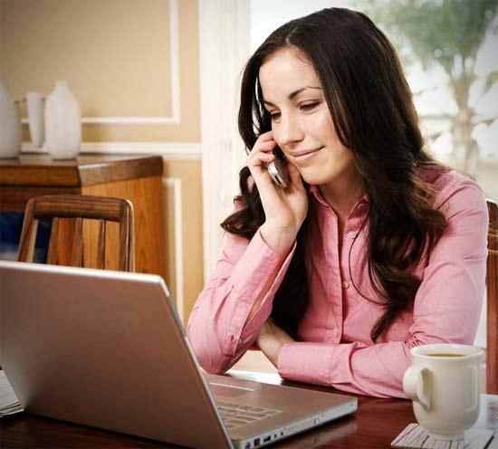Trabajar en Internet es como cualquier otro trabajo, con la ventaja de poder trabajar desde casa