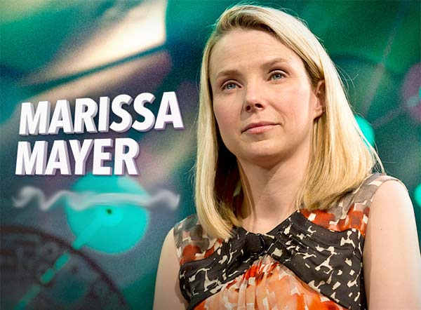Marissa Mayer, CEO de Yahoo!