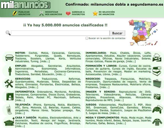 Milanuncios es adquirido por Segundamano e Infojobs