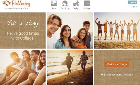 Picmonkey, editor web de fotos gratuito