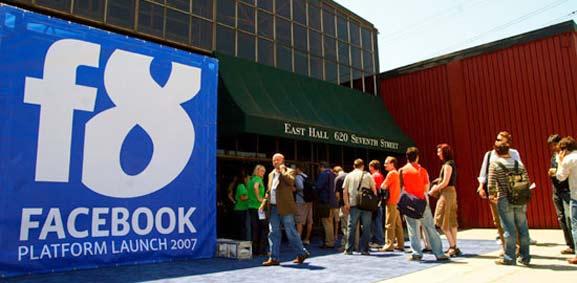 Facebook F8, evento del 2007. Este 2014 será para desarrolladores