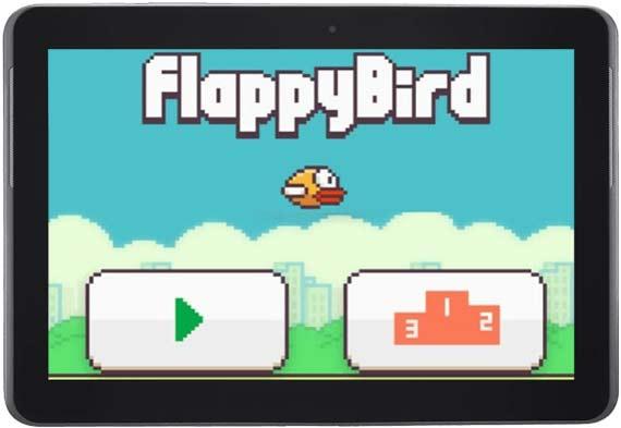 Flappy Bird videojuego adictivo y requerido.