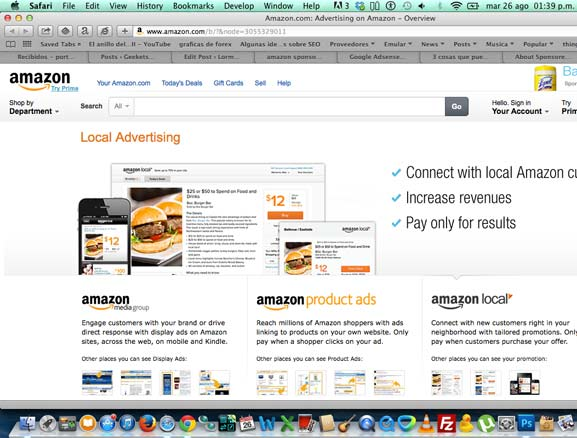 Amazon Sponsored Links nuevo proyecto