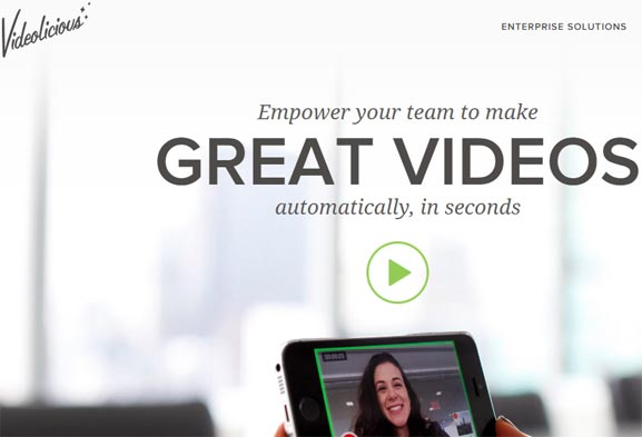 Videolicious, plataforma para hacer videos con el smartphone de forma profesional