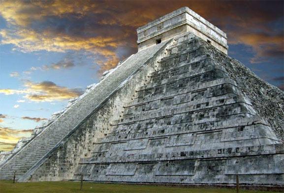 Cancun piramide, una gran fotografía