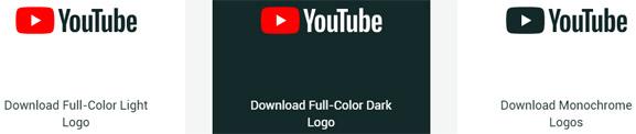 Logo de Youtube, nuevo, estético,